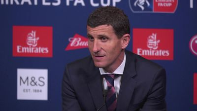 "javi gracia ""Tough defeat. City were better than u"