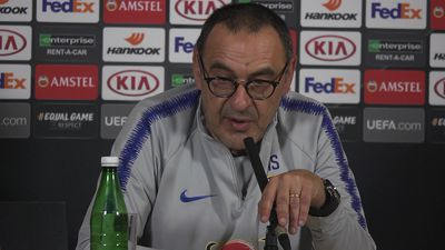 """Sarri """"I want to respect Hazard. If he decides to"""