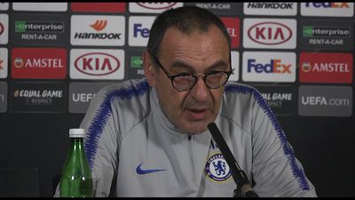 Thinking about the final, not my future - Sarri