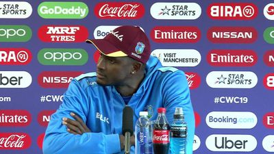 West Indies Jason Holder pre New Zealand