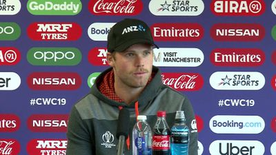 New Zealand's Lockie Ferguson pre West Indies