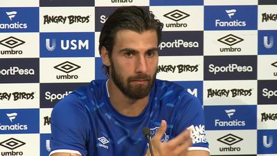 Andre Gomes presented at Everton