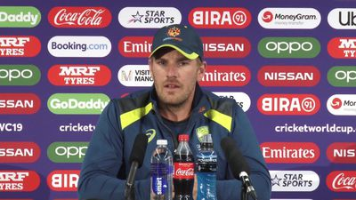 Australia's Aaron Finch post loss to South Africa