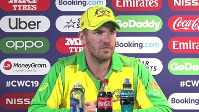 Australia's Aaron Finch post loss to England