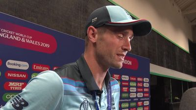 Chris Woakes post Cricket World Cup final