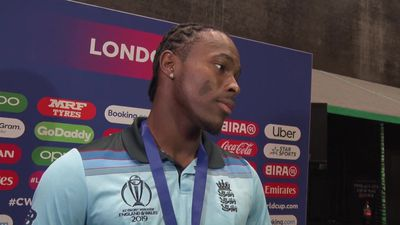 Jofra Archer post World Cup final
