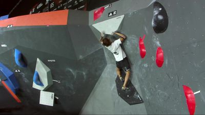 Highlights from Adidas Rockstars climbing