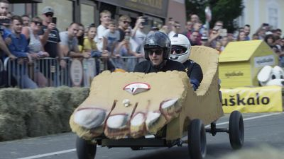 Highlights of Red Bull Soapbox Race in Croatia