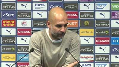 Bad day for us - Guardiola
