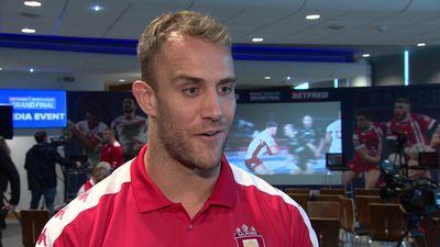 Salford's Lee Mossop pre Grand Final