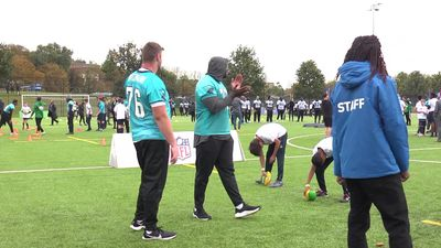 Carolina Panthers London game GVs