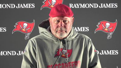 Tampa Bay coach Bruce Arians pre Carolina Panthers