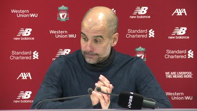 Proud performance despite defeat - Guardiola