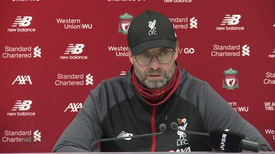 Not seen the handball shout yet - Klopp