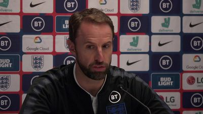 Southgate on his decision to drop Raheem