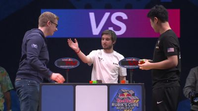 Highlights from Rubik Cube World Cup Final