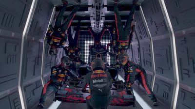 Red Bull's Zero Gravity pit stop