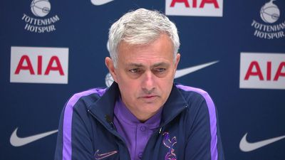Mourinho on both united and spurs are too big club