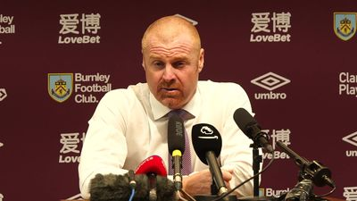 We didn't turn up second half - Dyche