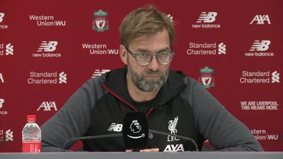 Really good performance with line-up - Klopp