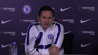 Lampard reacts to transfer ban being lifted