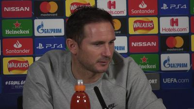 "lampard ""we have to win tomorrow"""