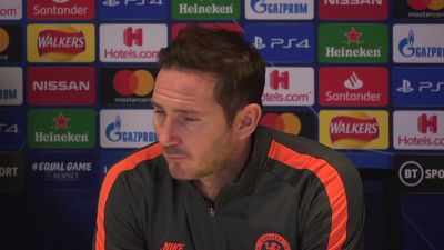 "Lampard ""Story of our season, not finishing teams"