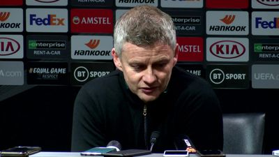The boys have done great - Solskjaer