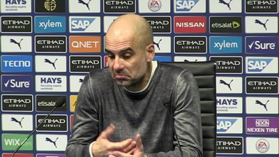 Palace 2nd goal our mistake - Guardiola