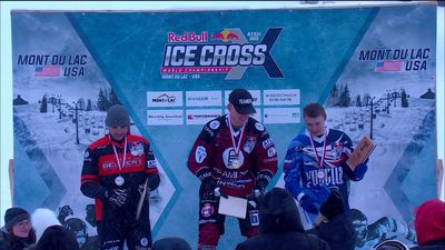 Red Bull Ice Cross Champs stage 3 highlights