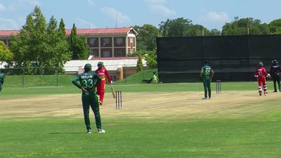 Pakistan U19 bt Zimbabwe U19 by 38 runs