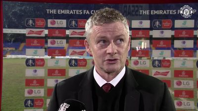 Loads of positives - Ole