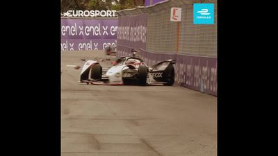 Formula E meets Sonic the Hedgehog