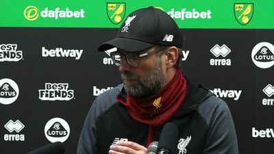Helps if you have Sadio to bring on - Klopp