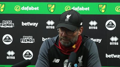 Not at best first half, better second half - Klopp