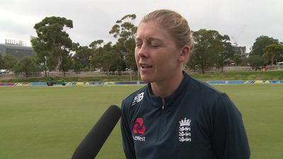 England's Knight pre Women's T20 World Cup