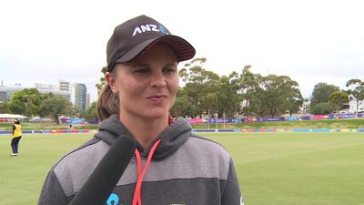 New Zealand's Bates pre Women's T20 World Cup