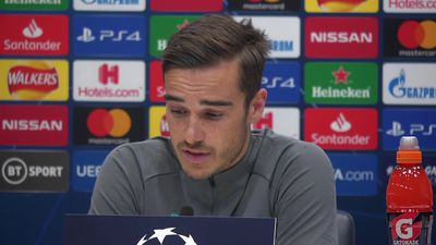 Harry Winks on coping without a striker