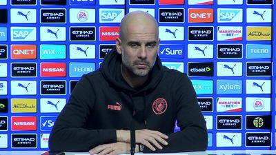My players are free to talk - Guardiola