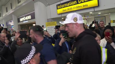Fury returns to UK after beating Wilder
