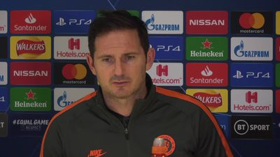 Frank Lampard on playing with pride in the 2nd leg