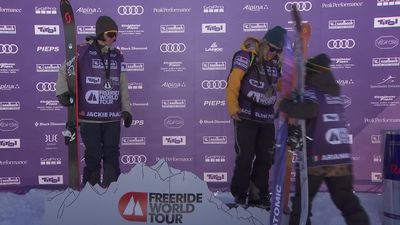 Highlights from stage 4 of Freeride World Tour
