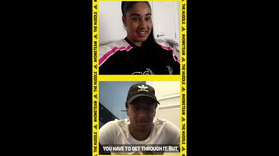 Cousins Jesse Lingard , Gabby George talk football