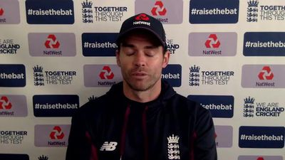 Jimmy Anderson on West Indies test day 3