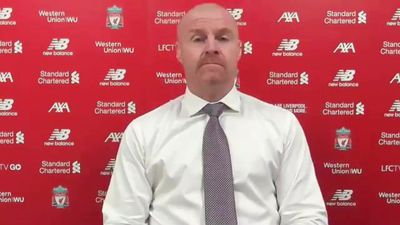 Dyche delighted with Burnley point at Anfield