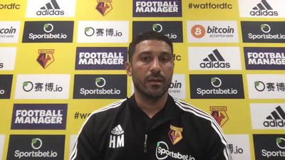 Hayden Mullins on Watford v Man City