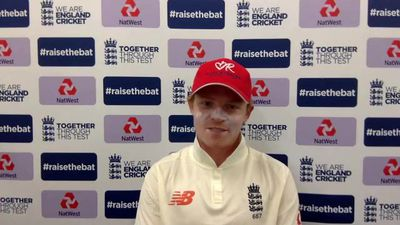 Ollie Pope on day 1 of third West Indies test