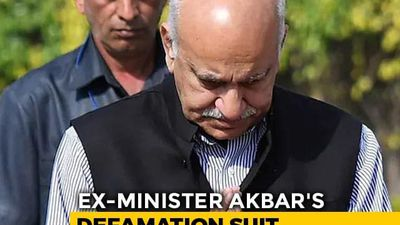 MJ Akbar Denies Meeting Priya Ramani In Hotel, Next Hearing On July 6