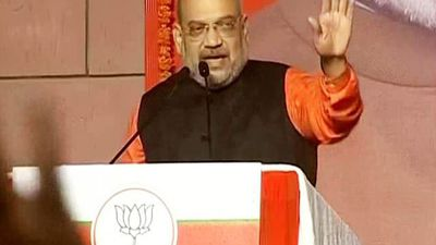 """Amit Shah Addresses BJP Workers, Thanks The People For """"Historic Mandate"""""""