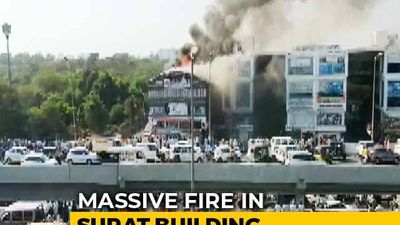 15 Students Dead In Surat Coaching Centre Fire, Many Jumped Off Building
